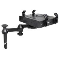 """RAM Mount Double Swing Arm w\/4"""" Male Tele-Pole - Laptop Tray"""