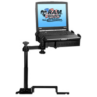 RAM Mount No-Drill Laptop Mount f\/Ford Explorer (2011-2012), Ford Police Interceptor Utility (2013)