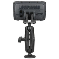 """RAM Mount C Size 1.5"""" Composite Fishfinder Mount for the Lowrance Hook2 Series"""