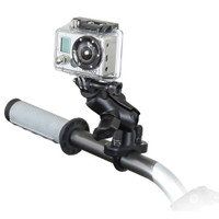 RAM Mount GoPro Hero Short Arm Handlebar Rail Mount