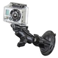 RAM Mount GoPro Hero Short Arm Suction Cup Mount