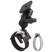RAM Mount Strap Mount w\/Short Arm & Diamond Base