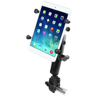 "RAM Mount Tough-Claw Base w\/Long Double Socket Arm & Universal X-Grip Cradle w\/1"" Ball f\/7"" Tablets"