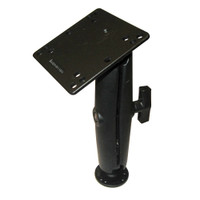 "RAM Mount 4.75"" Square Base VESA Plate 75mm and 100mm Hole Patterns w\/Long Surface Mount"