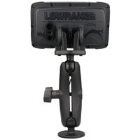 """RAM Mount C Size 1.5"""" Fishfinder Mount for the Lowrance Hook2 Series"""