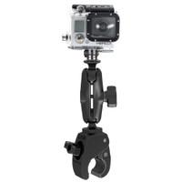 RAM Mount Small Tough-Claw Mount w\/Custom GoPro Hero Adapter