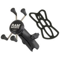 RAM Mount Universal X-Grip Cell Phone Cradle w\/Double Socket Arm