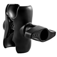 "RAM Mount Double Socket Short Arm w\/Jam Nut f\/2.25"" Base"