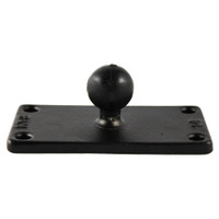 "RAM Mount 2"" x 4"" Rectangle Base w\/1"" Ball"