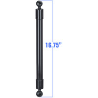"""RAM Mount 16.75"""" Long Extension Pole with 2 1"""" Diameter Ball Ends"""