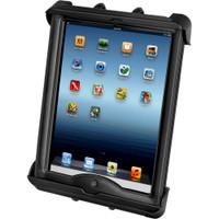 RAM Mount Tab-Tite Universal Clamping Cradle f\/Apple iPad w\/LifeProof & Lifedge Cases