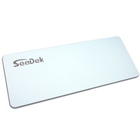 "Sea Dek Helm Pad , Boat Helm Pads Sea Dek Helm Pad Large 16""x39"" Sea Foam Green Over Storm Gray"