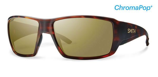 Smith Optics Sunglasses - Guide's Choice - Matte Havana Frame - ChromaPop PLUS Polarized Bronze Mirror Lens