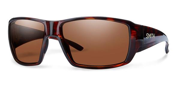 Smith Optics Sunglasses - Guide's Choice - Havana Frame - Techlite Polarchromic Copper Lens