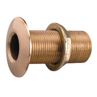 "Perko 1-1\/4"" Thru-Hull Fitting w\/Pipe Thread Bronze MADE IN THE USA"