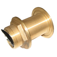 "Perko 1-1\/2"" Thru-Hull Fitting w\/Pipe Thread Bronze MADE IN THE USA"