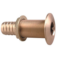 "Perko 1-1\/8"" Thru-Hull Fitting f\/ Hose Bronze Made in the USA"