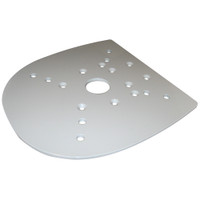 Edson Vision Series Mounting Plate - Furuno & Garmin 4' Open Array