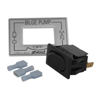 Attwood 3-Way Auto\/Off\/Manual Bilge Pump Switch