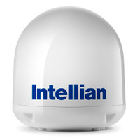 Intellian i4\/i4P Empty Dome & Base Plate Assembly