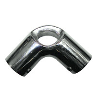 "Whitecap 1"" O.D. 90 Degree SS Elbow & Eye Anchor"