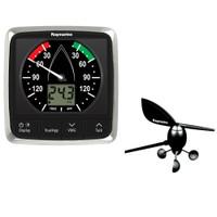 Raymarine i60 Wind Display System w\/Masthead Wind Vane Transducer