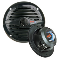 "Boss Audio MR50B 5.25"" Round Marine Speakers - (Pair) Black"