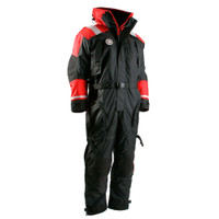 First Watch Anti-Exposure Suit - Black\/Red - Large