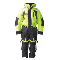 First Watch Anti-Exposure Suit - Hi-Vis Yellow\/Black - XX-Large