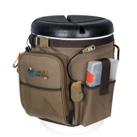 Wild River RIGGER 5 Gallon Bucket Organizer w\/Lights, Plier Holder & Lanyard, 2 PT3500 Trays & Bucket w\/Seat