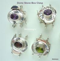 Dome Stone Box Clasp