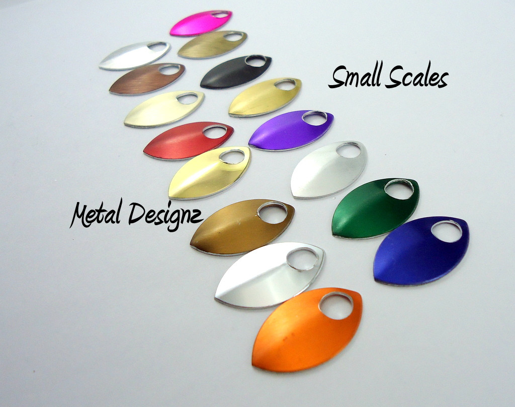 Small Anodized Aluminum Scales - buy now!