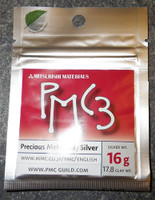 PMC3 - Silver Precious Metal Clay - 16 Grams