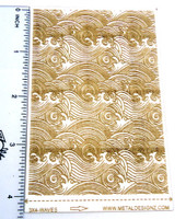 Laser Cut Texture Paper -Waves - Rolling Mill Patterns