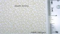 Laser Cut Texture Paper -Swirls - Rolling Mill Tools