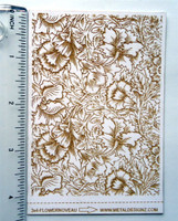 Laser Cut Texture Paper - Flower Garden - Rolling Mill Tool