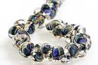 Lamp Work Tear Drop Beads