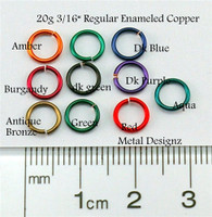 "Regular Enameled Copper 20 gauge 3/16"" id."