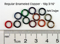 "Regular Enamelled Copper 18 Gauge 3/16"" id."