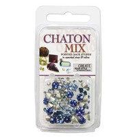SWAROVSKI CHATON MIX BLUES
