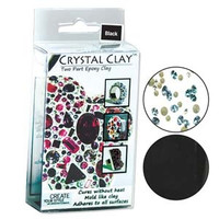 CRYSTAL CLAY BLACK 50 GRAM PACK