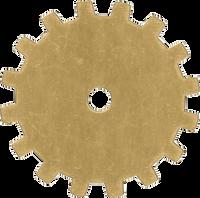 19mm Brass gear blanks