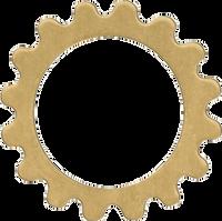 16mm Brass gear Link blanks
