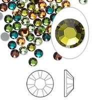 Swarovski hotfix crystal rhinestone Forest 4mm