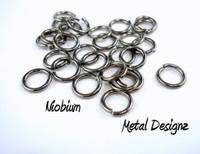 """Niobium Jump Rings 18 Gauge 1/8"""" id."""