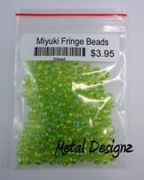 Miyuki Delica Fringe Beads - 10 Gram bag