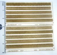 Tire tread laser texture paper