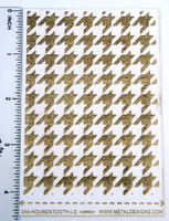 Laser Cut Texture Paper - Houndstooth - Rolling Mill Pattern