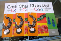 Chain Mail & Color by Vaness Walilko - excellent book - shop now!