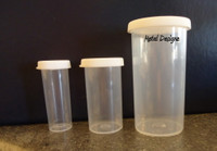 Snap Cap Storage Bottles - three sizes available!